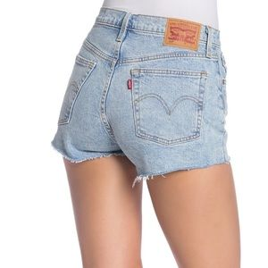 Levi's 501 High Waisted Jean Shorts New